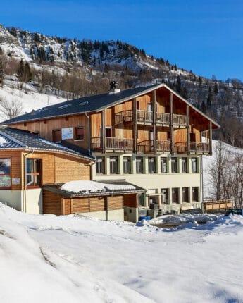 Centre de vacances au pied des pistes de ski