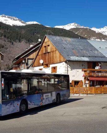 Navette gratuite Skibus hiver pour vous faciliter le ski