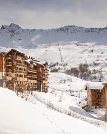 Résidences de tourisme au pied des pistes de ski