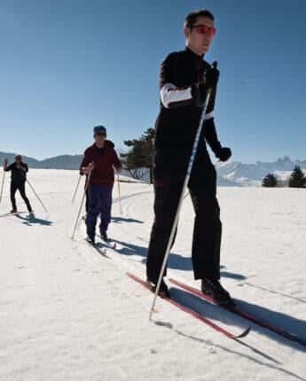 Ski de fond Espace Nordique du Grand Coin