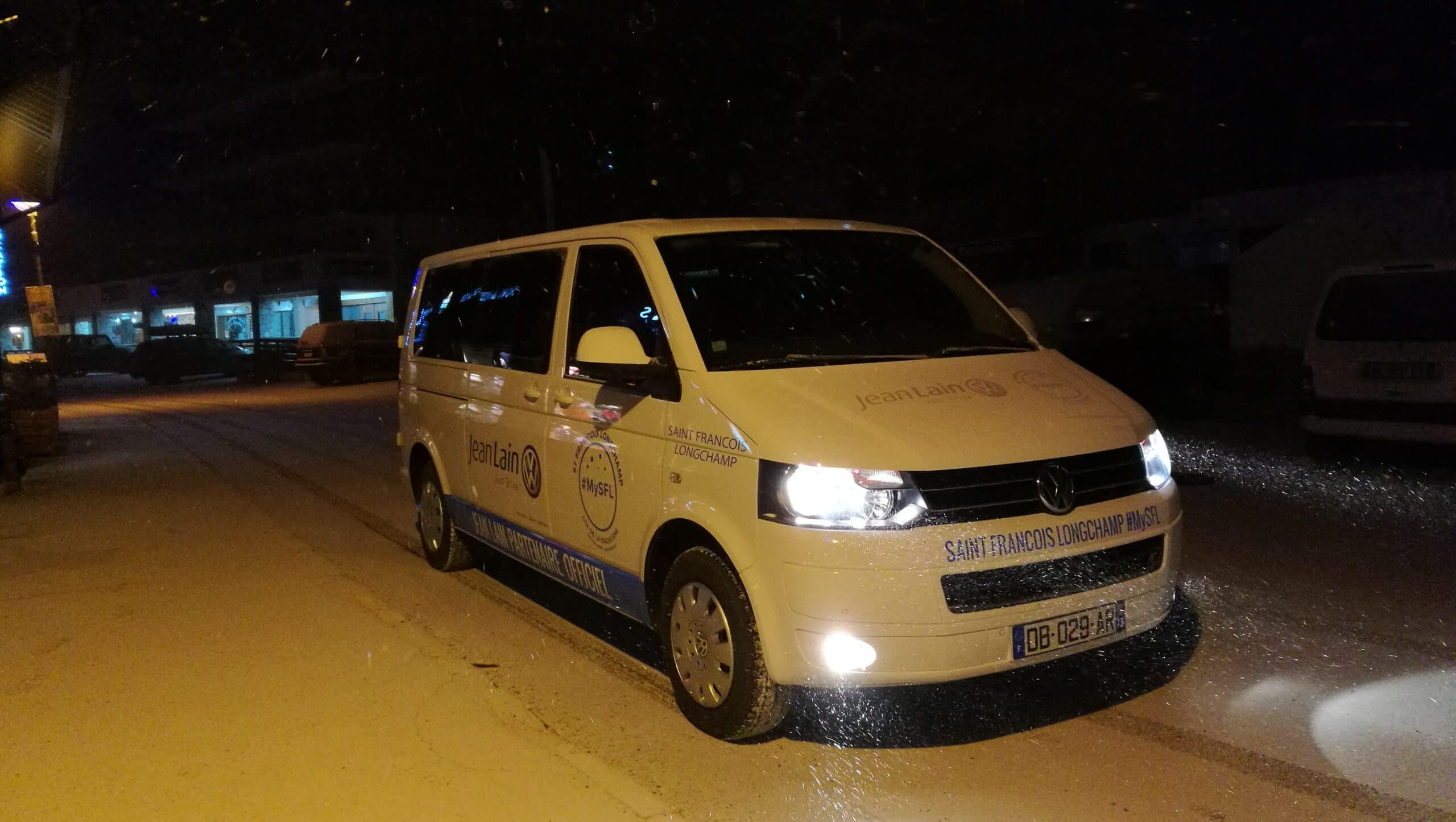 Navette nocturne, service de conciergerie en hiver