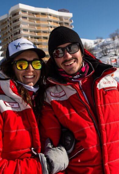 Moniteurs de l'Ecole du Ski Français Saint François Longchamp